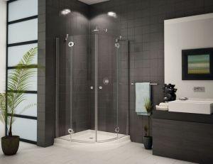 Rounded Corner Shower