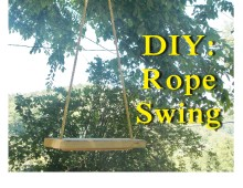 DIY: Rope Swing